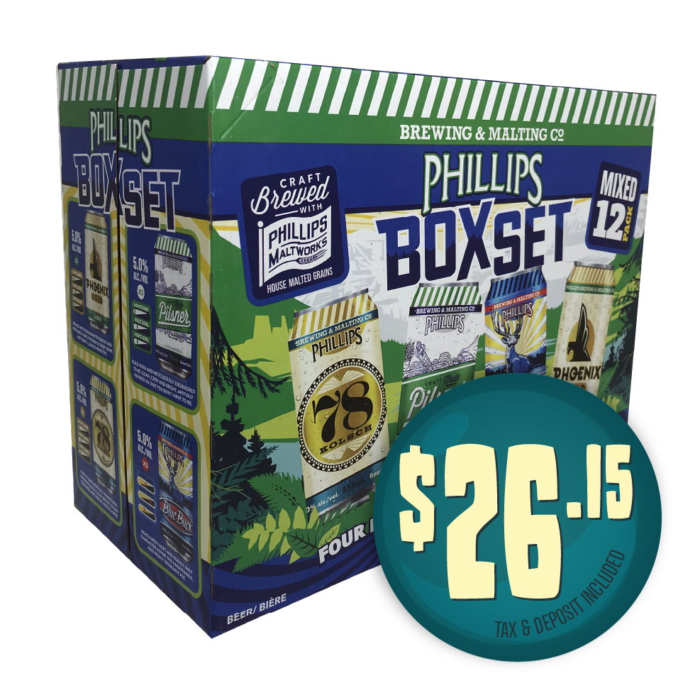 Phillips Box Set 12 Pack - $26.15 including tax & deposit